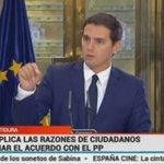 """.@Albert_Rivera """"Cs ha exigido al PP que se cumpla íntegramente con la ley de la amnistía fiscal"""" https://t.co/89AjIk4WUd"""