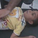 #تلبيسة 28 8 2016 احدى الاصابات من الاطفال #Talbisah #Homs #Syria #PutinAssadCrimes https://t.co/ZSwUigISXy