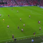Messis amazing pass vs Athletic Bilbao yesterday. GODLY  https://t.co/iONLI08skA