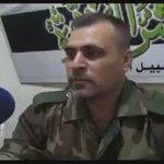 #جيش_العزة الرأئد جميل الصالح في مقابلة لأورينت نيوز يتحدث عن اهداف #معركة_في_سبيل_الله_نمضي ريف #حماة https://t.co/uyD6cK0HO7