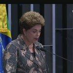 """Opa! Quem disse que Dilma não falaria em """"golpe""""? Toma essa! https://t.co/HLJFjEZRGL"""