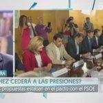 """.@Albert_Rivera """"Si Pedro Sánchez quisiera ejercer el papel de líder de la oposición lo podría hacer"""" 🎥 https://t.co/709V4A3ESl"""