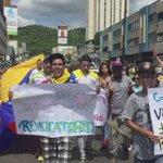 CON DIOS, y ganas de cambiar Vzla desde #Carabobo hoy salen caminando hombres y mujeres valientes hasta Caracas! 1-S https://t.co/lbTrYYCWxp