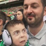 Oisin just taking it all in at the match on Sat @celticfc #SuperO https://t.co/VHC47Um48Z