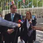 En la @ONU_es denunciamos lo que estamos pasando en Venezuela. Nos sentimos fuertes, esta semana es histórica. https://t.co/Igt4oJ8JXQ