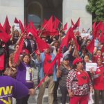 Check out the excitement by farm workers following #AB1066s passing https://t.co/olnVQ5CmPi