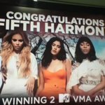 The @WWE congratulated Fifth Harmony on their #VMAs during their program! (via @cabellhoes) https://t.co/nexahaBif1