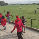 Protesting students and EFF now enter the school premises #LawsonBrownHighSchool @AfriNewsAgency https://t.co/j9GAlisGce