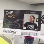 Show your Condor pride & snap a pic with our big #ONECard. Were waiting by the @conestogacafe stairs. #IAmACondor https://t.co/oKUdSgeKMd