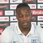 Michail Antonio talking about his @England call-up is fantastic 🙌 #ENG https://t.co/hqiaCEmgii