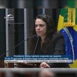 Janaína Paschoal diz pensar nos netos de Dilma, e o advogado de defesa da presidente eleita, Cardozo, responde: https://t.co/m1Za6PFfyM