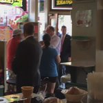 VP nominee @timkaine is here at the Strasburg Country Store & Creamery ahead of his speech in downtown Lancaster. https://t.co/m3mq3uPgra
