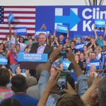 .@timkaine takes the stage and says hes glad we pronounce Lancaster the same way as they do in Virginia. https://t.co/7GspBg6dVe