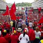 RT luisjmarcano: Nosotros somos paz y alegría! #ChavismoEnCombate https://t.co/ER6jyESXJF