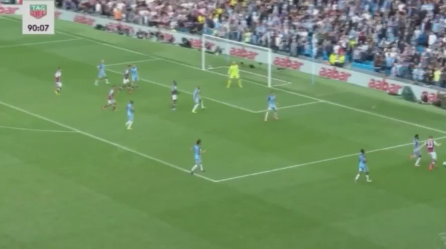 - @ManCity team of passes (19 before Sterling's goal vs West Ham) https://t.co/XTFdHTdyT1