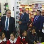 Está de visita el Embajador de #Portugal y lo acompaña el Rector @hveras2010 en un recorrido por la #FUL29 https://t.co/mKIPieeQc1