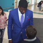 VIDEO: @PKSubban1 had a cute chat with a young patient at Montreal Childrens Hospital today. https://t.co/jgkaShs11Y