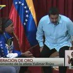 NicolasMaduro: RT VTVcanal8: #GeneracionDeOro Pdte. NicolasMaduro condecoró a YulimarRojasVe con la Orden Generalí… https://t.co/YICPrCM39R