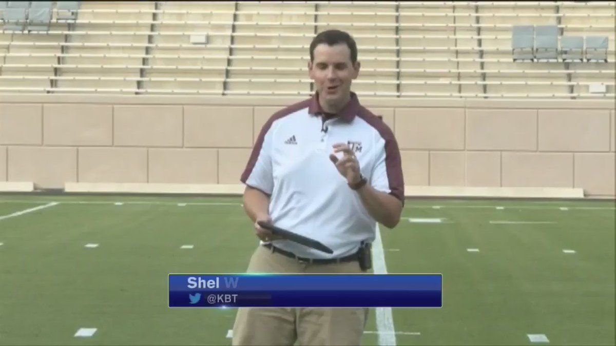 In two days @AggieFootball takes Kyle Field to #BTHOucla. Tonight, @KBTXWeather BTHO the forecast https://t.co/iIL9Ai1N7o