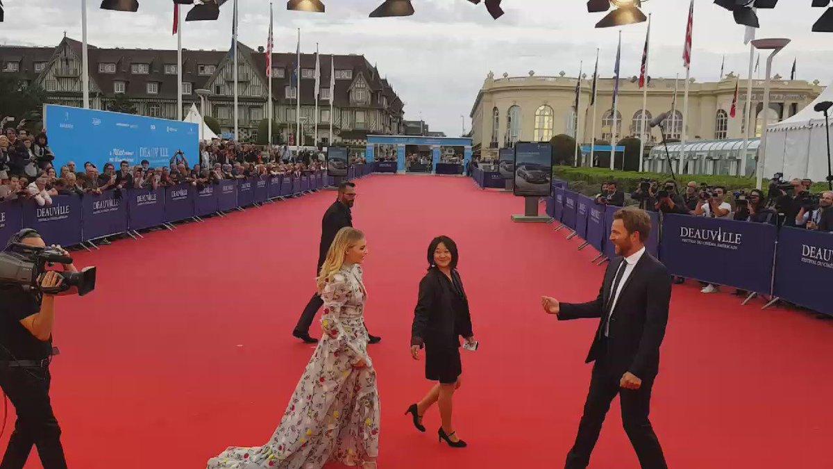 L'actrice @ChloeGMoretz qui sera récompensée à #Deauville 2016 du prix #NouvelHollywood https://t.co/LvXtmFYAi6