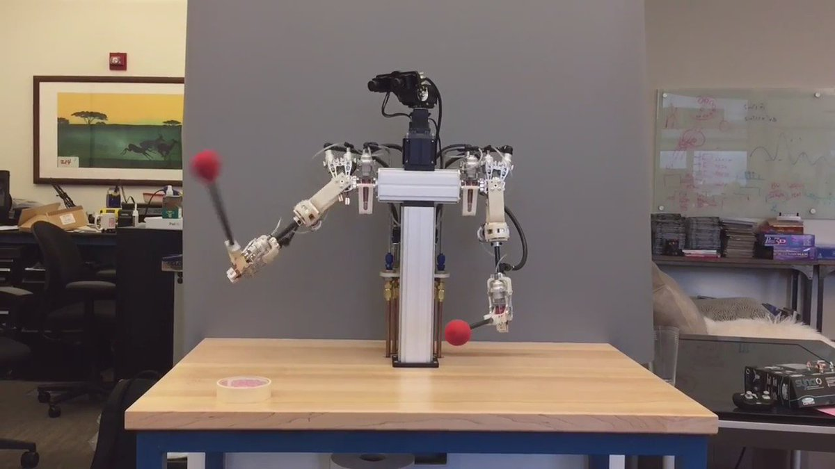 """Disney Robot With Air-Water Actuators Shows Off """"Very Fluid"""" Motions https://t.co/1Nluf0Ti5T https://t.co/nPWIKAtR4i"""