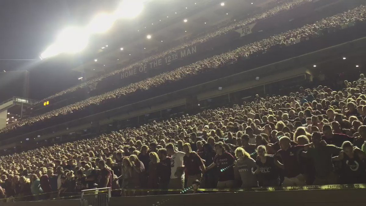 I've decided Midnight Yell is life changing. #Aggies https://t.co/zY7Wpb5IrZ
