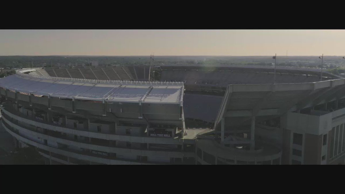 #WhereLegendsAreMade: our latest national TV spot, voiced by actor Gary Sinise. #RollTide #ICYMI https://t.co/bXnWdlKtwq