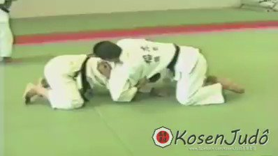 This wasn't learned at a #BJJ class. #judoka worldwide need 2 fully learn their art.  Video from Kosen Judo FB page https://t.co/68IFBM11Er
