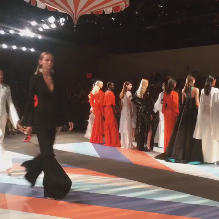 One of the most diverse shows in all of fashion from @csiriano, not to mention stunning. So proud of him! https://t.co/xQA1swEkIs