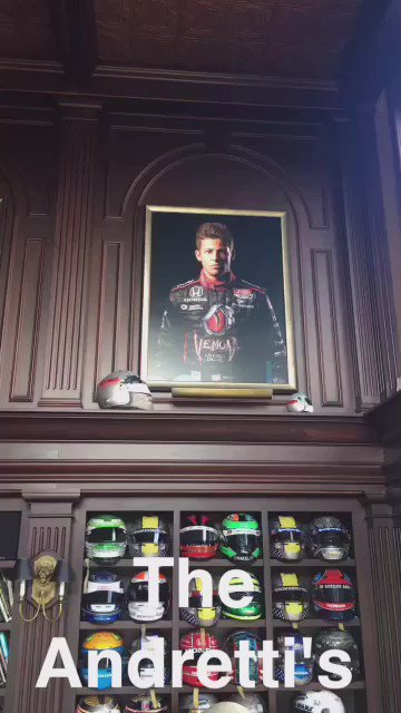Finally able to see @marcoandretti in his Casa and found this family monument #ANDRETTIFAMILY https://t.co/VJLA7t0ohs