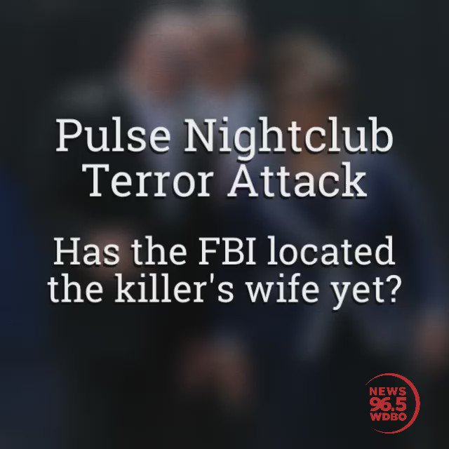 Hey @FBI - It's been 93 days since you said you didn't know where Noor Salman is...  Find her yet? #pulse #terror https://t.co/9pI0STe6ox