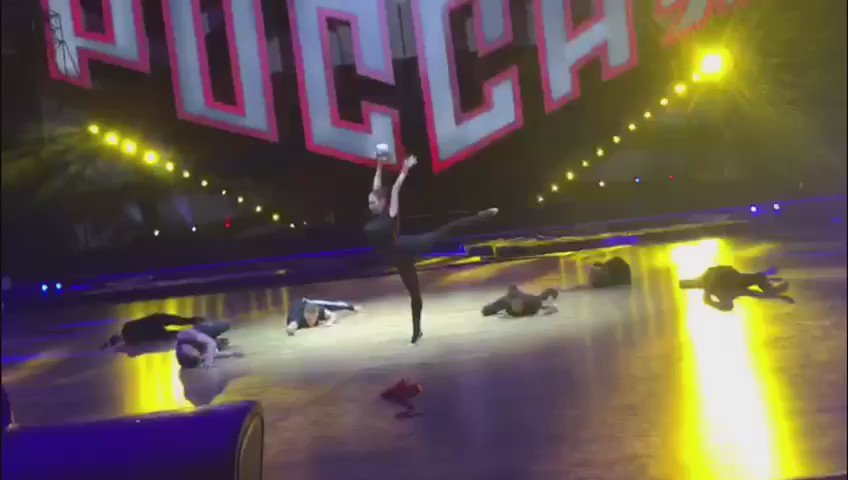 Последние репетиции перед шоу Алексея Немова. Ждём всех сегодня в Дворце Спорта Мегаспорт в 19.00! https://t.co/U8WnE4Mu3q