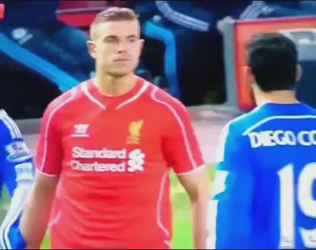 To this day, there's still nothing better than when Henderson stared out Costa!