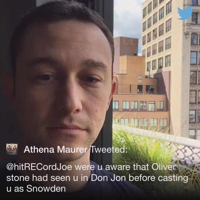 .@Attie27Athena Yeah he told me he really dug the movie. And @TheOliverStone is not one for flattery :) https://t.co/ZX5vqLmqAJ