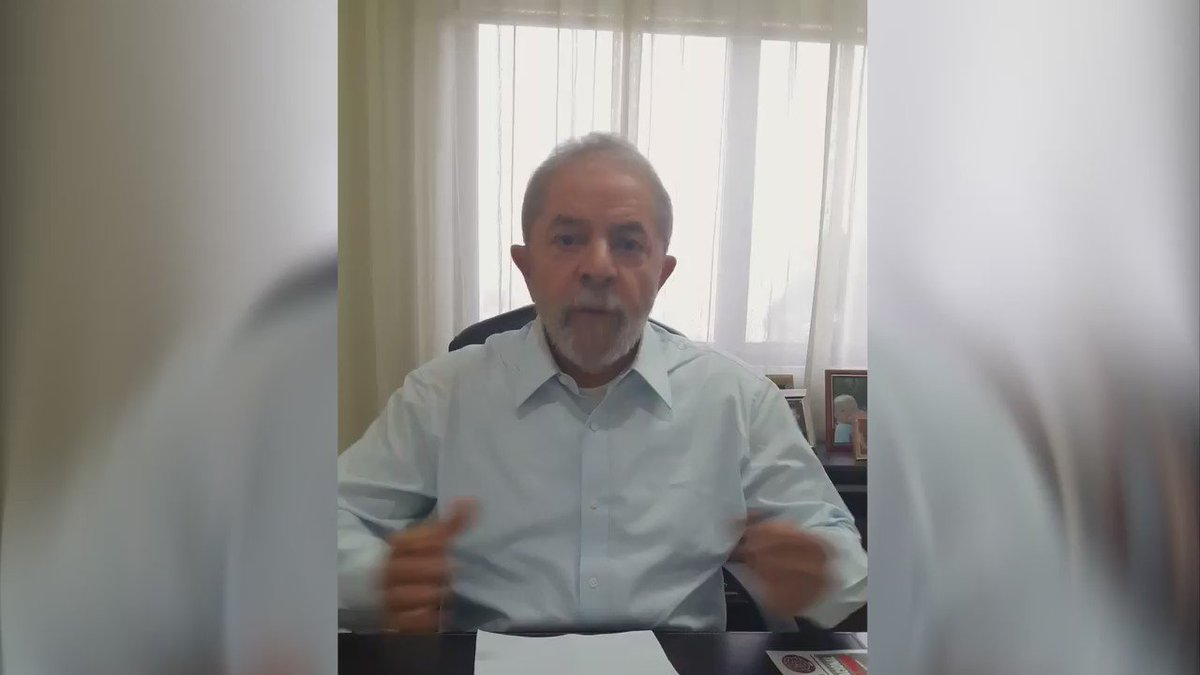 Estive com o presidente Lula na tarde desta 6a-feira. Ele me deu declaração (vídeo) que peço que os amigos divulguem https://t.co/SxtMvXPW4b