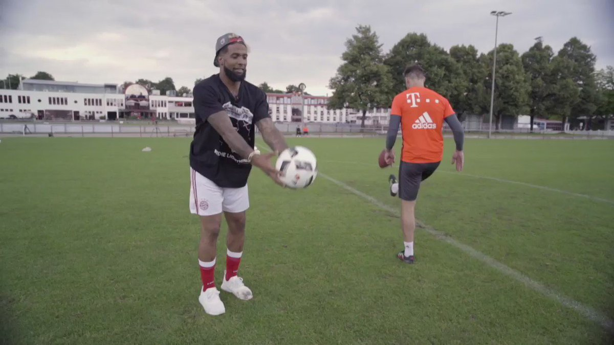 """""""Soccer was truly my first love"""" - @OBJ_3. ⚽  Going Global with Odell Beckham Jr coming soon..."""