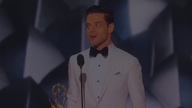 #MrRobot is a show I hope you're watching. @ItsRamiMalek kills it #Emmys  @gittlebass https://t.co/UuY9vVD6Be