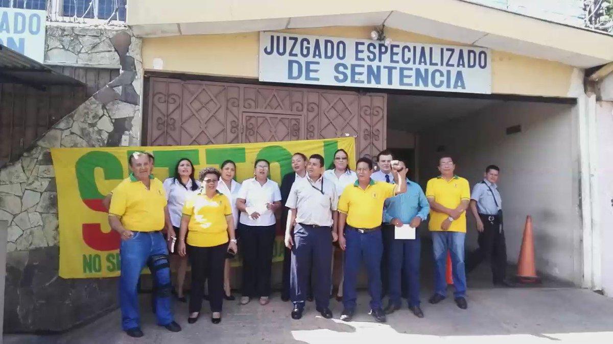 Juzgados especializados de san miguel en paro de labores for Juzgado san miguel