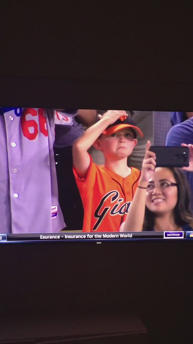 Together, we're all this kid. #SFGiants https://t.co/PLAg4jMjvR