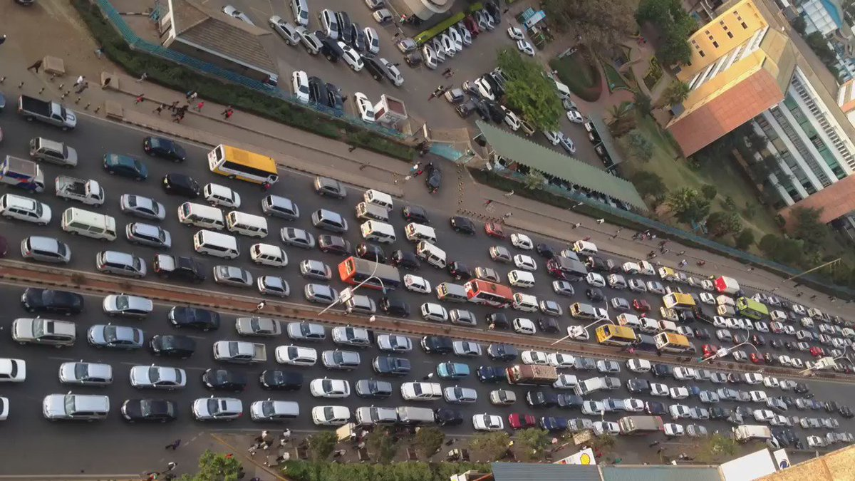 Nairobi traffic jam at this hour ! We are officially marooned. https://t.co/3UXZgy7lGO