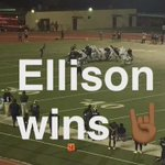 Ellison with the dub!!! https://t.co/eS2xESkqrE