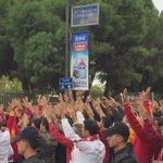 Biz buradayız, yine varız, biz Galatasaraylıyız! #GSlive https://t.co/a7R4zUM8gw