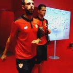 El #SevillaFC ya está en el Nuevo San Mamés #vamosmisevilla https://t.co/SJC3uFyXhT