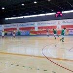 Ya calienta el R.Betis Futsal B en el Fco. De Dios Jiménez, a las 18:00 se enfrentará al Stilo Textil FS https://t.co/FecPiICXNg