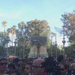 La Virgen de La Paz entra en el Parque de María Luisa #CoronacionPazSevilla https://t.co/d3iJI5yluQ