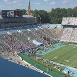 Getting ready for Pitt/Carolina...view from the booth! https://t.co/5kJNSJTuJy