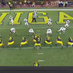 Chris Evans runs it in from 4 yards out to give #Michigan the 35-3 lead!! #GoBlue https://t.co/AiWaeppptw