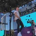 """.@TheChainsmokers and @Daya what a way to close their set with """"Dont Let Me Down""""! #iHeartVillage #iHeartFestival https://t.co/SMCjvdyLts"""