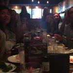 Reaction to @TarHeelFootball s come from behind win vs PITT at team dinner here in SC. Heel yeah! TARRRR! https://t.co/75AerU0tTb