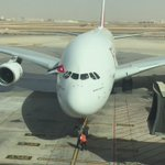وصول اكبر طائرة امراتية ايرباص A380# الى ارض المملكة الاردنية الهاشمية #A380toAmman https://t.co/EYvGM7dXzm